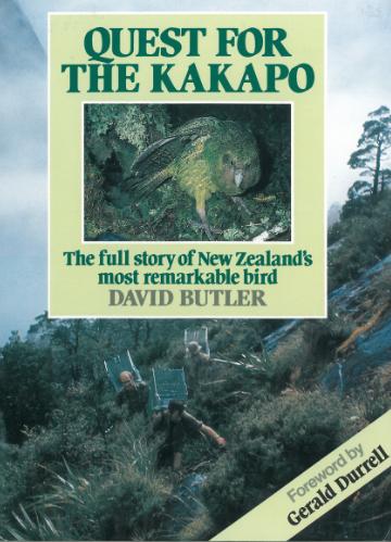 Books for sale; Kakapo; birds; Brook Sanctuary